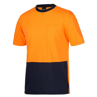 JBs Hi Vis Crew Neck Cotton T-Shirt