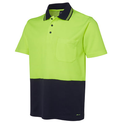 JBs Hv Non Cuff S/S Cotton Back Polo