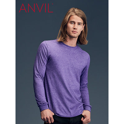 Anvil Adult Lightweight Long Sleeve Tee Colours