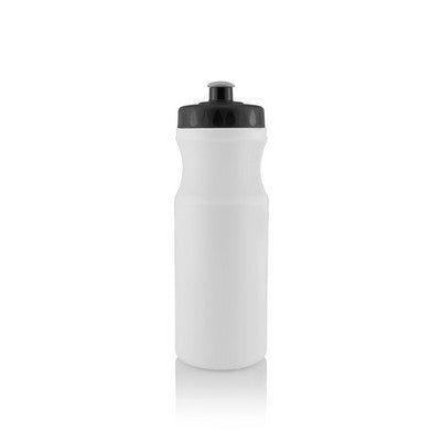 Budget 650ml Sports Drink Bottle with Screw Top Lid - 1 Colour Print