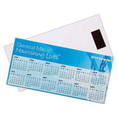Magnetic Tab Calendar (210mm x 100mm)