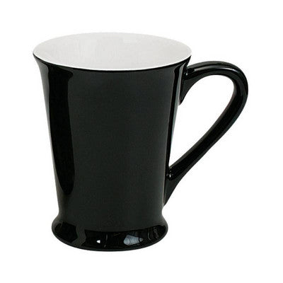 Florence Mug Gloss Black / White