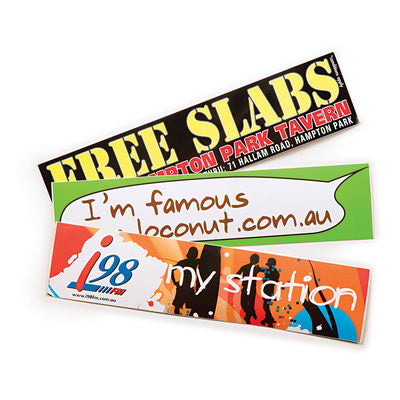 Gloss Paper Sticker (75 x 75 mm)