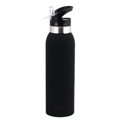 Thermo Drink Bottle - Rubber Paint Finish - Bpa Free