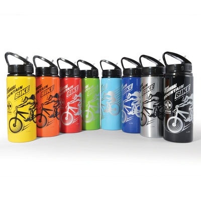 Trek Aluminium Sports Drink Bottle - 600ml