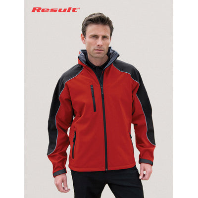 Result Hooded Soft Shell Jacket