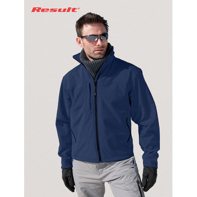 Result Mens Classic Soft Shell Jacket