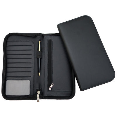 Deluxe Zip Travel Wallet