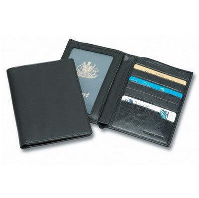 Premium Leather Passport Wallet