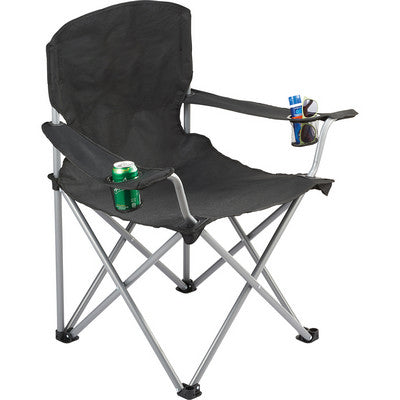 Oversized Folding Chair - Black