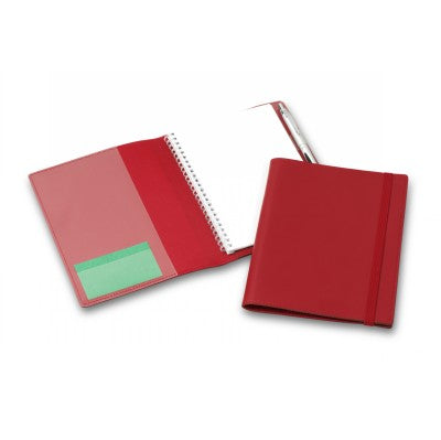 Deluxe Red Elastic Closure A5 Refillable Journal