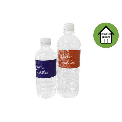 Custom Label Bottled Water 600ml