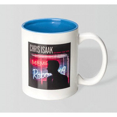 Can Dye Sub White/Light Blue Mug