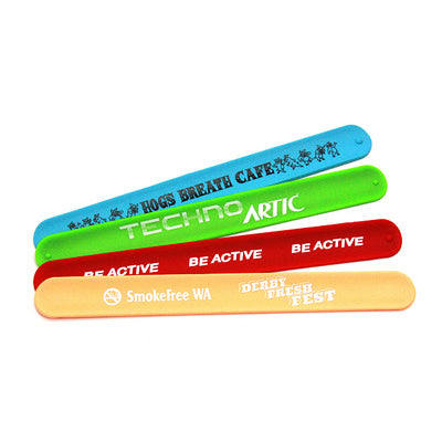 Silicone Slap Band Printed