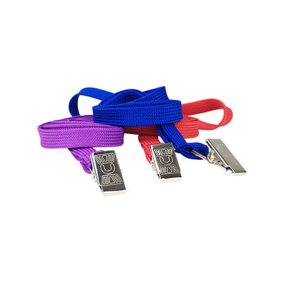 Leo Tubular Plain 10mm Tubular Lanyard with Alligator