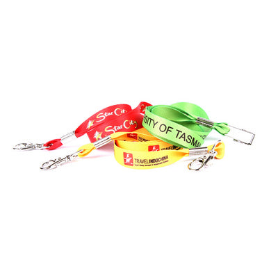 Lanyard Taurus 15mm Full Colour Smooth Fabric