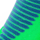 Neon Cushioned Functional No-Show Athletic Socks