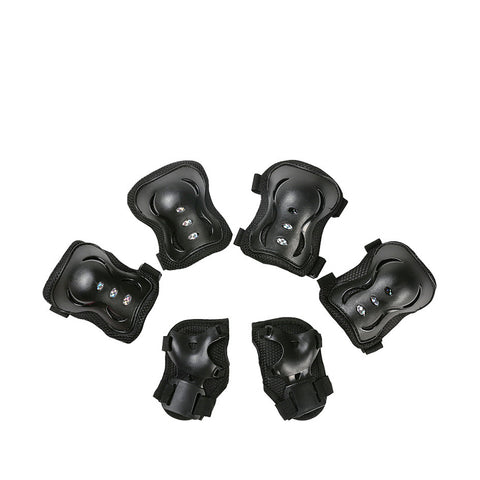 Kids Knee Elbow Wrist Pads Set of 6