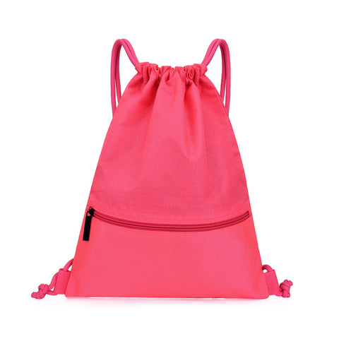 Waterproof Drawstring Bag Gym Backpack