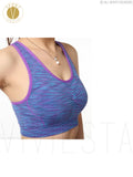Seamless Racerback Running Sports Bra