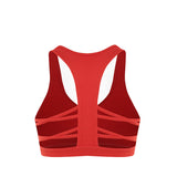 Strappy Open Back Run Yoga Sports Bra