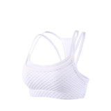 Dual Layer Hollow Out Training Sports Bra