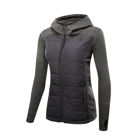 Slim Fit Quilted Puffer Hooded Jacket