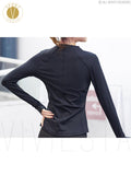 Slim Cut Stretch Fit Mesh Training Jacket