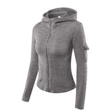 Ultimate Fit Fleece Zip-Up Hooded Jacket