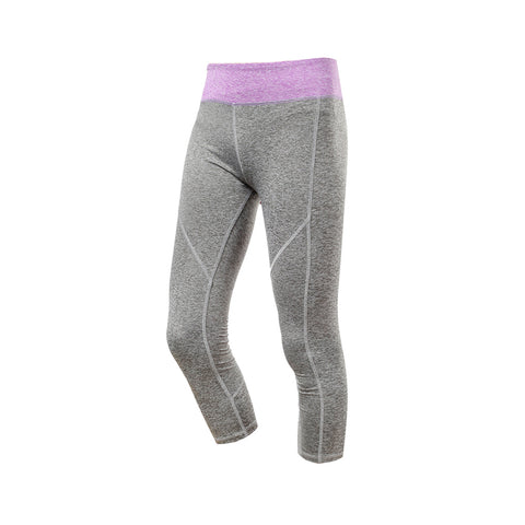 Quick Dry Pocket Gym Active 3/4 Capris