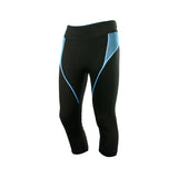 Mesh Detail Gym Training Leggings Capris