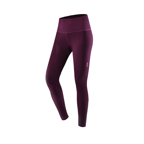 Ribbed High-Rise Athletics Sports Leggings