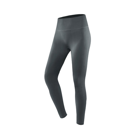 Ribbed Seamless Compression Sports Leggings
