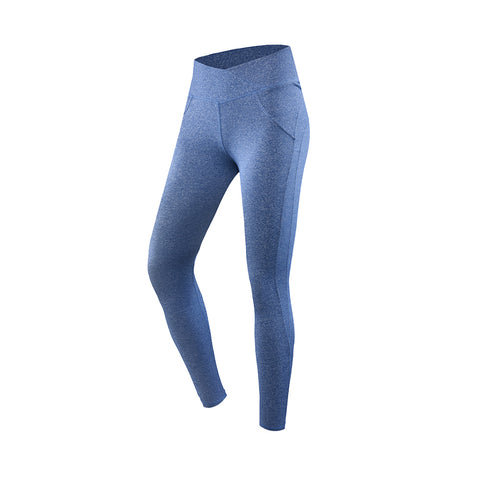 Crossover Waistband Slim Cut Yoga Leggings