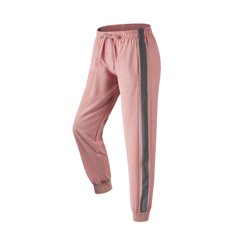 Drawcord Reflective Stripe Jogger Pants