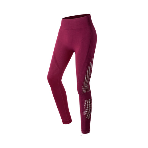 Seamless Laser Cut High Waist Leggings