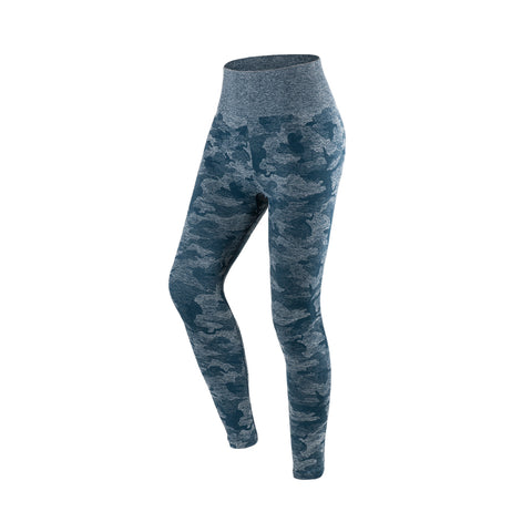 Camouflage Print Seamless Gym Tights