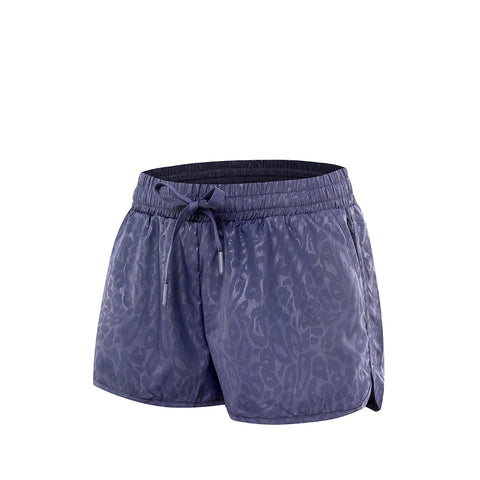 Leopard Run Sports Shorts With Liner