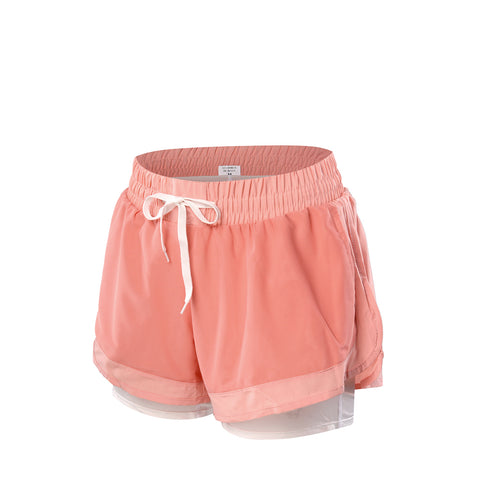 Meshy Running Shorts With Inner Layer
