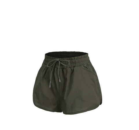 Dual Layer Running Shorts With Liner
