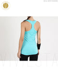 Slim Fit Active Tank Top With Shelf Bra