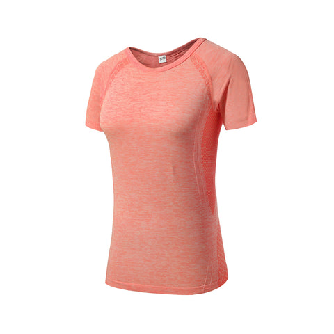 Crew Neck Slim Fit Sports Top T-shirt