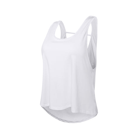 Loose Fit Sleeveless Gym Tank Top