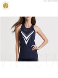 Breathable Hollow Out Run Sports Tank Top