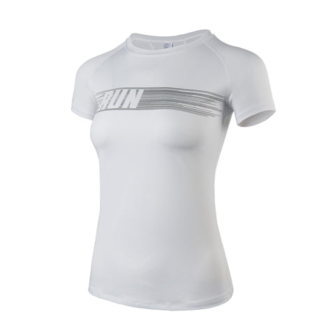 RUN Cool Dry Gym Sports T-shirt
