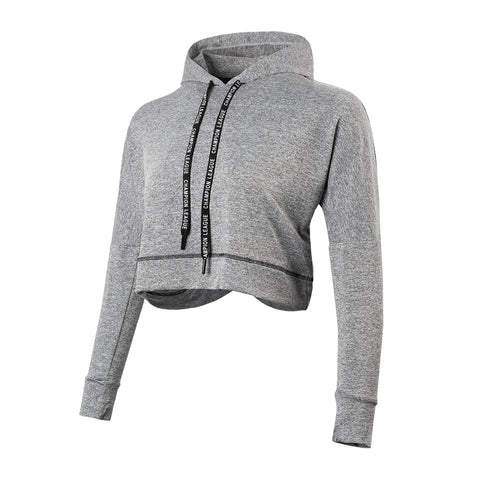 Quick Dry Everyday Gym Crop Hoodie