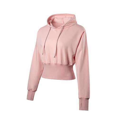 Pastel Flattering Everyday Crop Hoodie