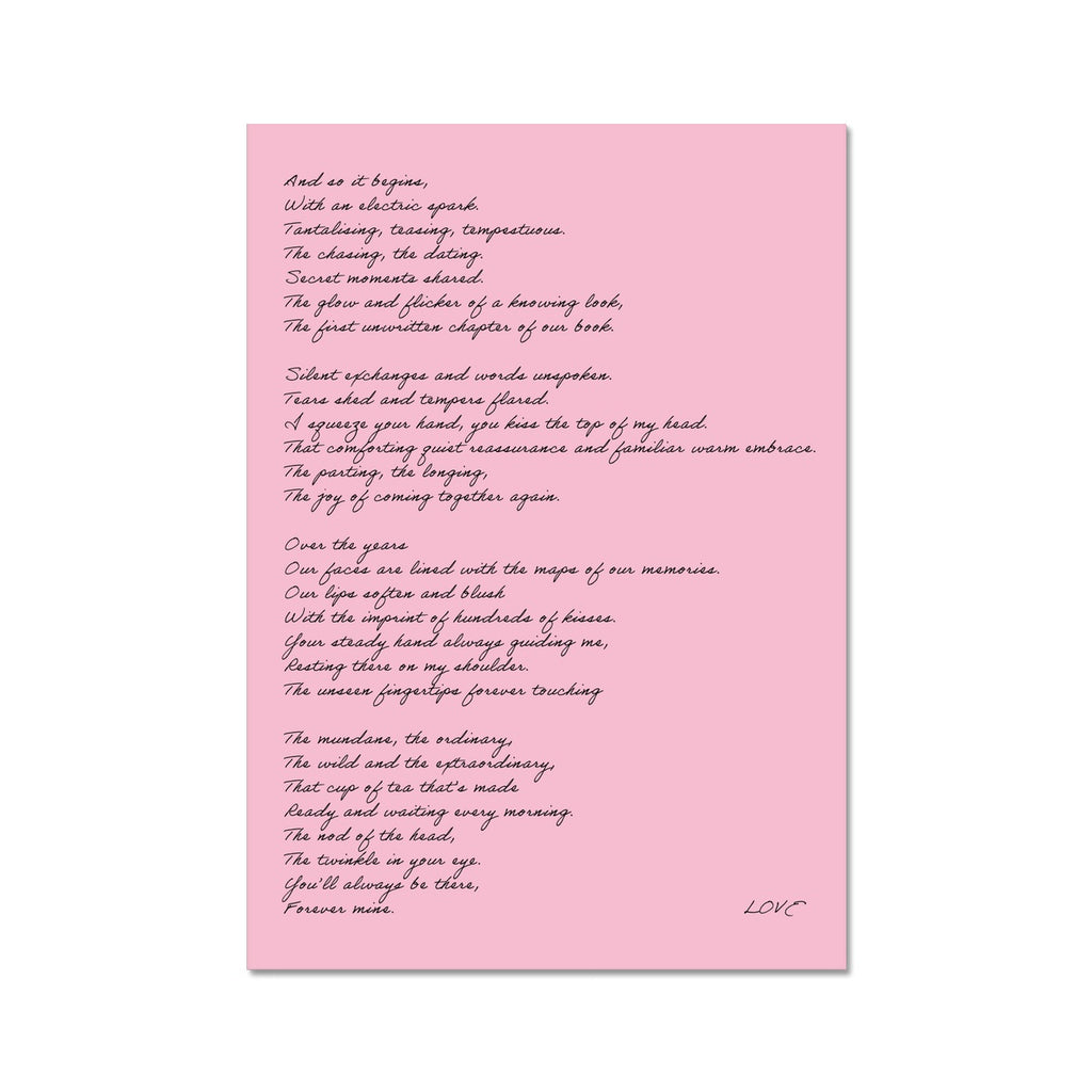 Love Poem | Fine Art Print