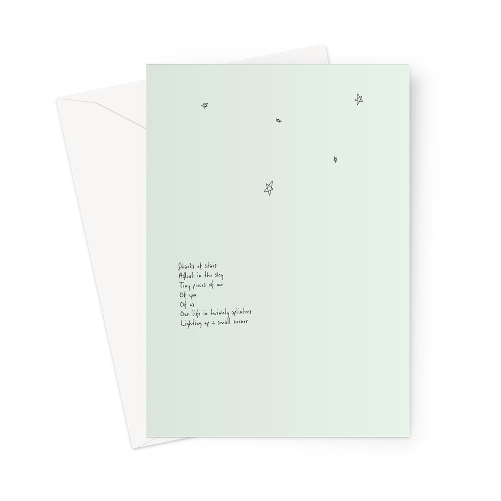 Stars Poem  Greeting Card