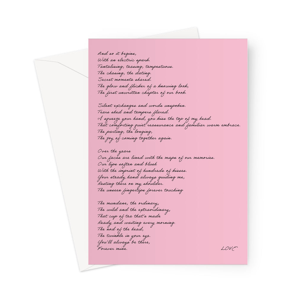 Love Poem | Greetings Card